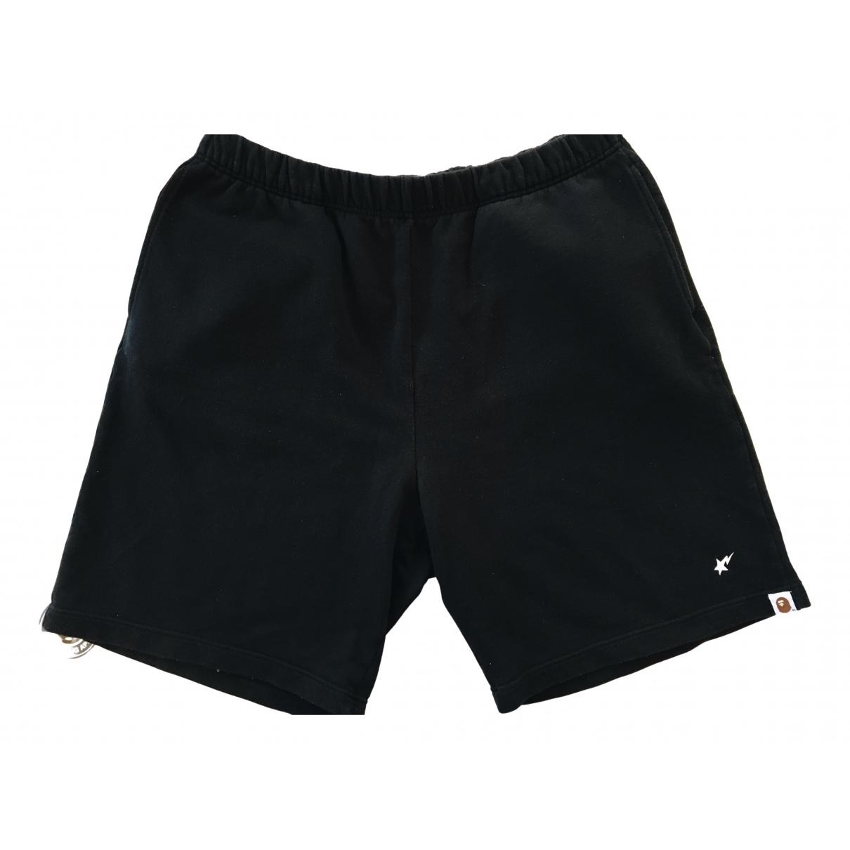 A Bathing Ape \N Shorts in  Schwarz Baumwolle