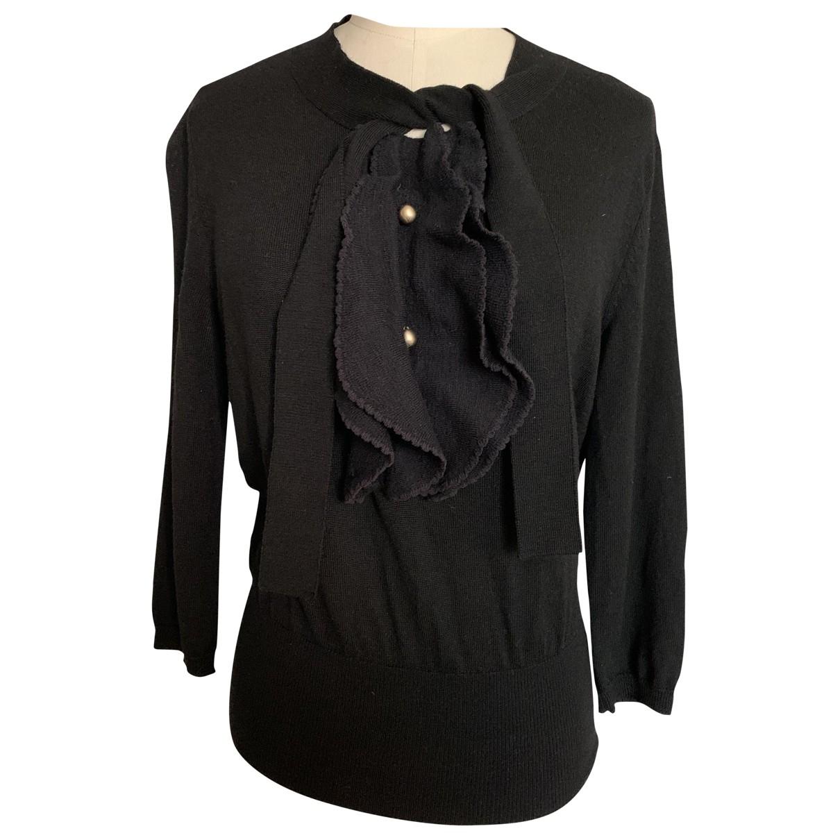 Valentino Garavani \N Black Wool Knitwear for Women 36 FR