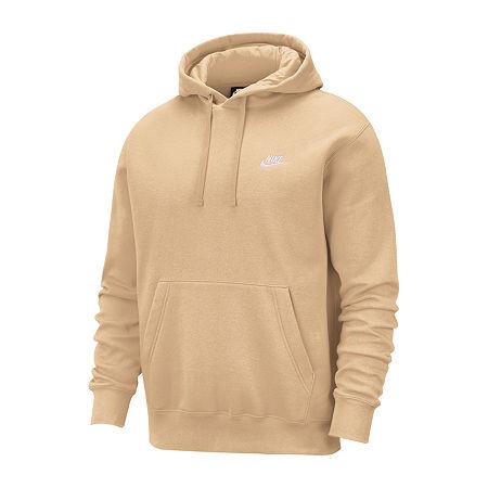 Nike-Big and Tall Mens Long Sleeve Hoodie, 3x-large Tall , Beige