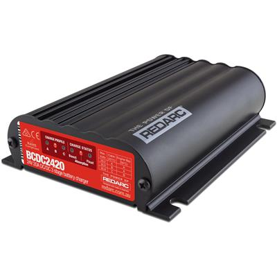 REDARC 24V 20A In-Vehicle Dc Battery Charger - BCDC2420