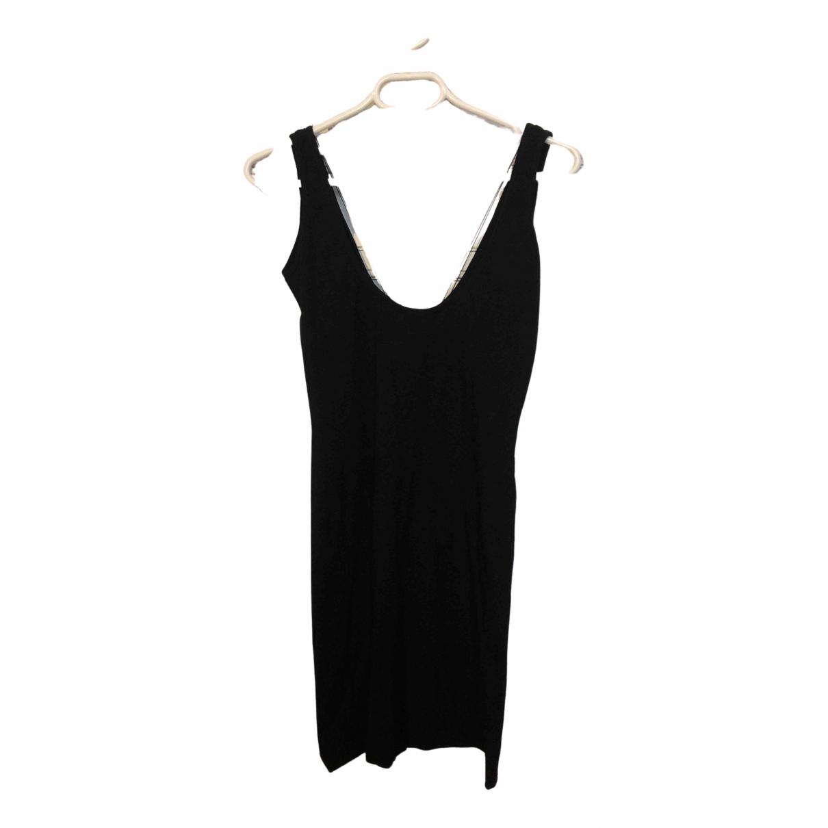 Helmut Lang - Robe   pour femme en coton - elasthane - noir