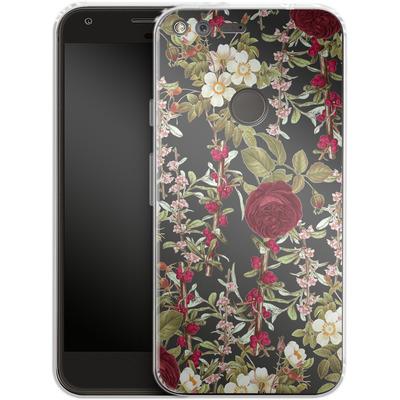 Google Pixel Silikon Handyhuelle - Floral Explorer von Zala Farah