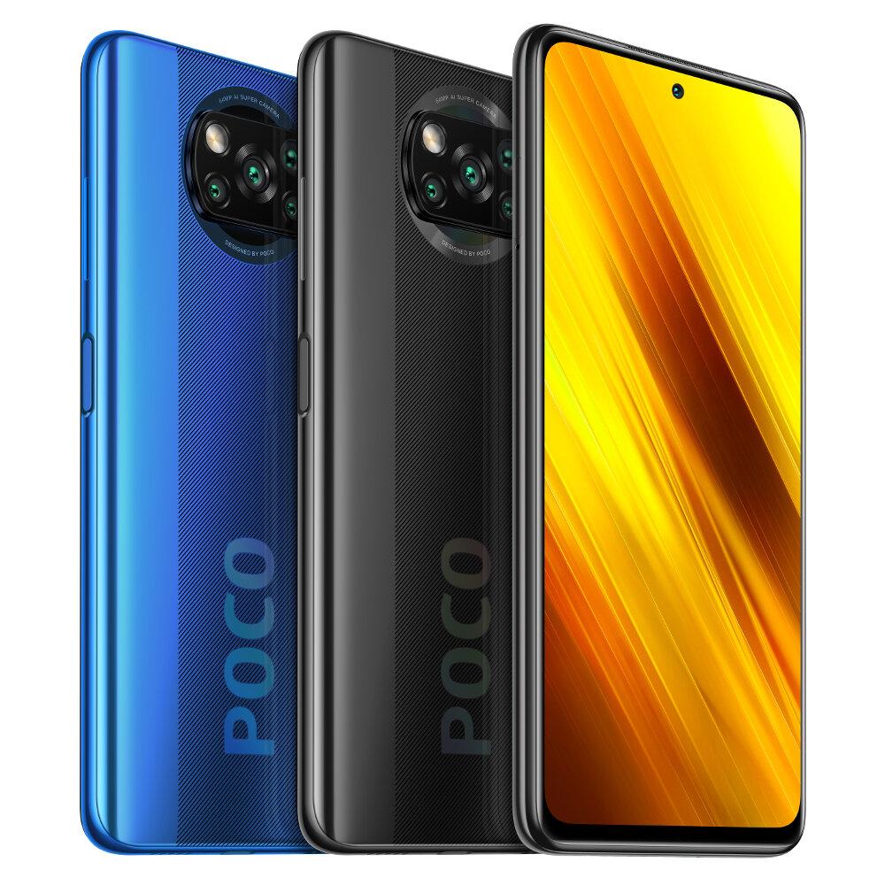 POCO X3 NFC Global Version Snapdragon 732G 6GB 128GB 6.67 inch 120Hz Refresh Rate 64MP Quad Camera 5160mAh Octa Core 4G