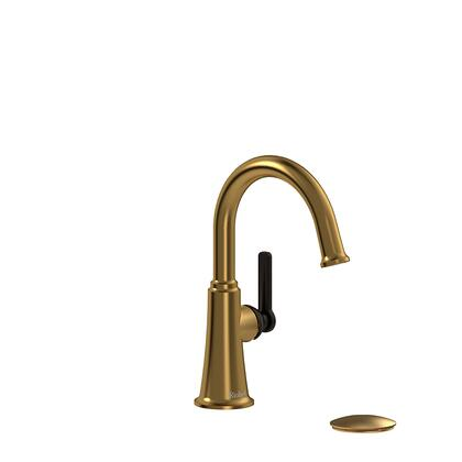 Momenti MMRDS01JBGBK Single Hole Lavatory Faucet with J Lever Handle 1.5 GPM  in Brushed