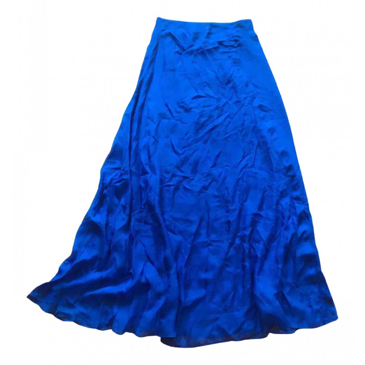 Rag & Bone \N Rocke in  Blau Seide
