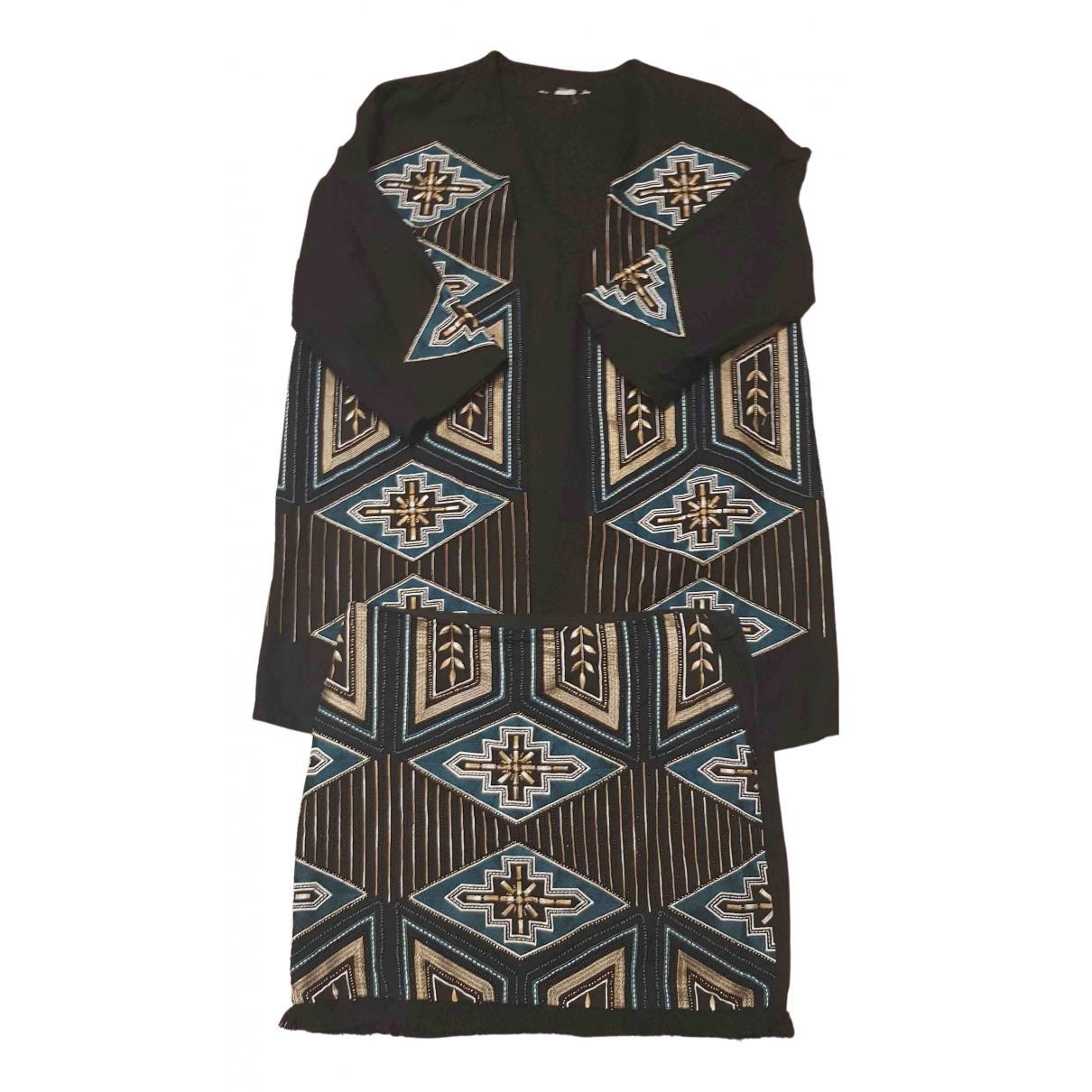 Non Signé / Unsigned N Black Cotton jumpsuit for Women M International