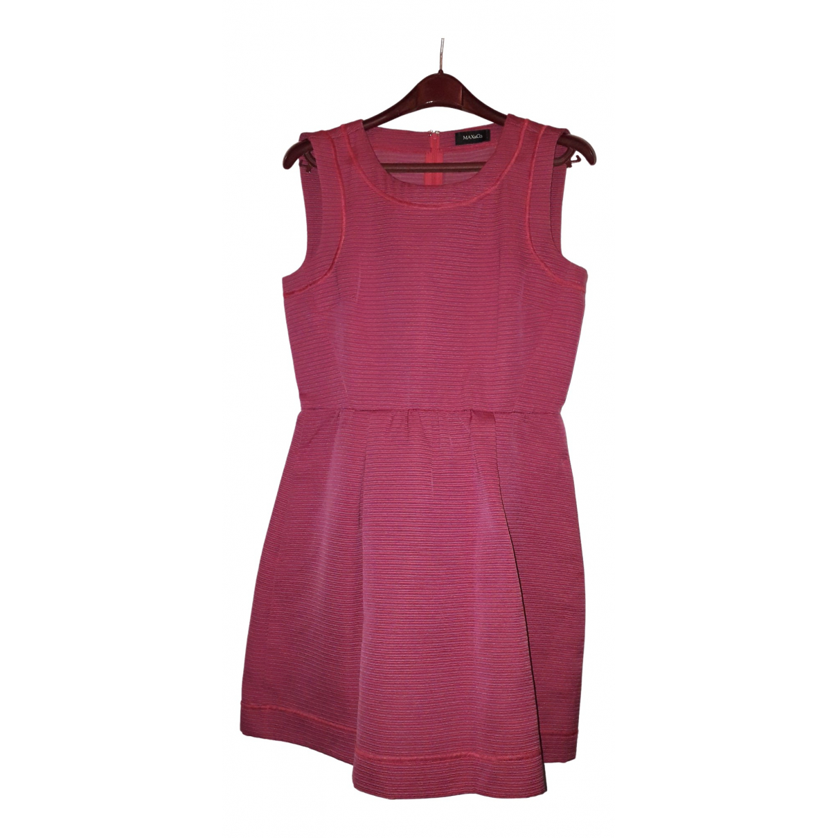 Max & Co \N Pink Cotton dress for Women 40 IT