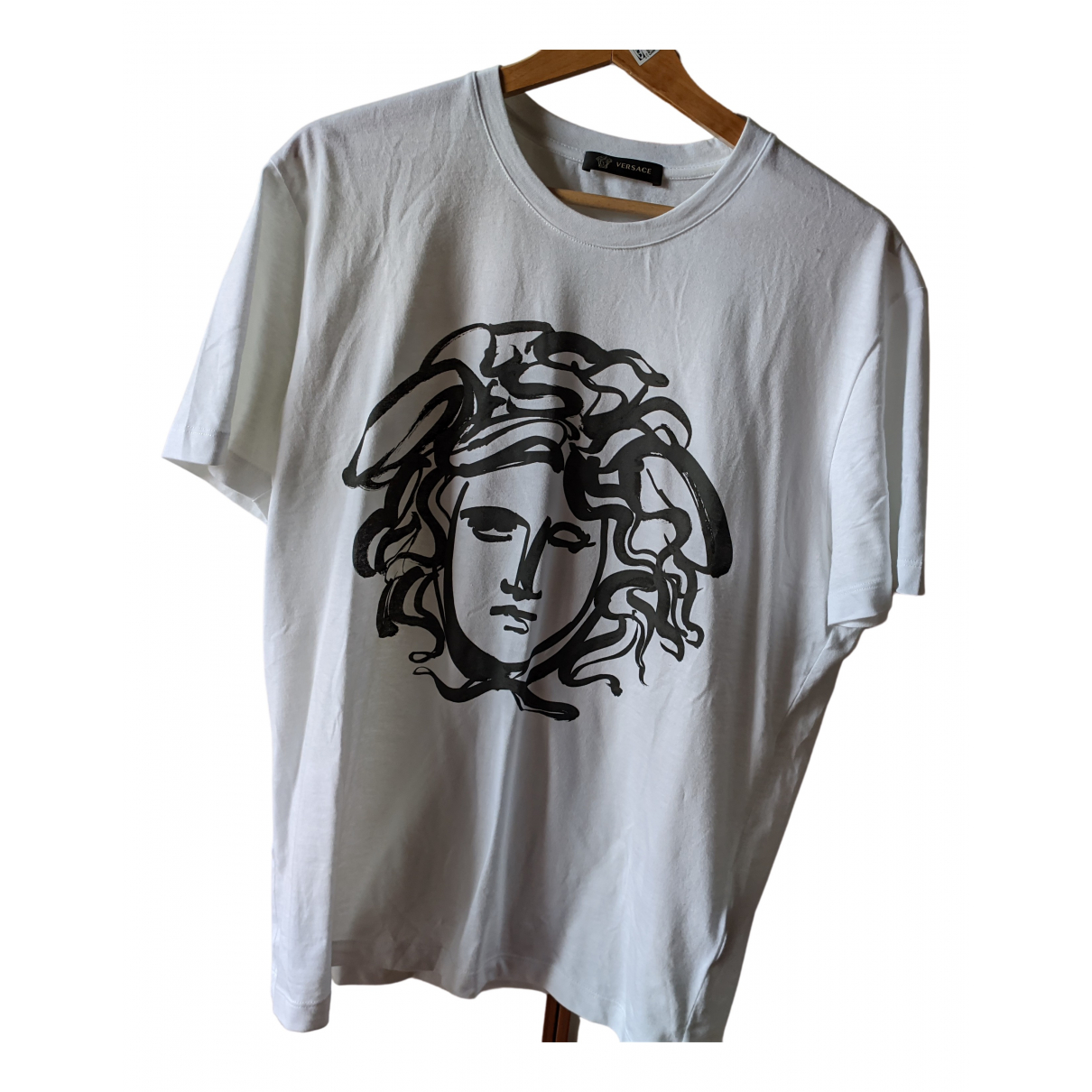 Versace \N White Cotton T-shirts for Men M International