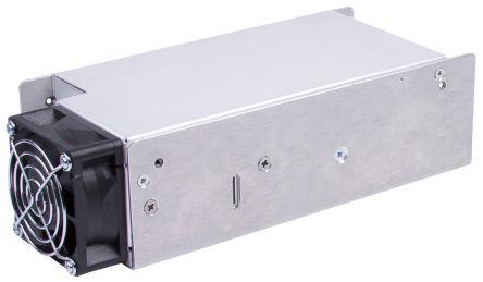 XP Power , 607W AC-DC Converter, 15V dc, Enclosed