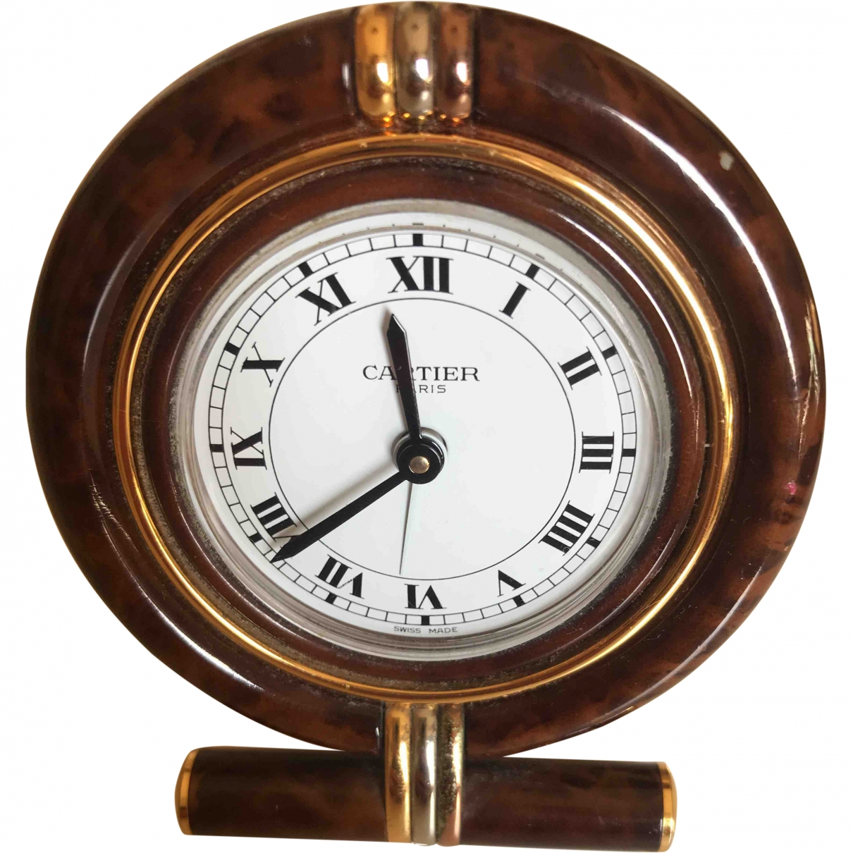 Cartier N Brown Gold plated Home decor for Life & Living N