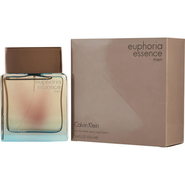 Calvin Klein - Euphoria Essence Men : Eau de Toilette Spray 3.4 Oz / 100 ml