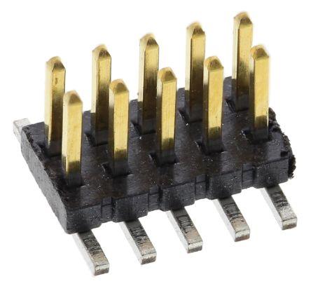 Samtec , FTS, 10 Way, 2 Row, Straight Pin Header