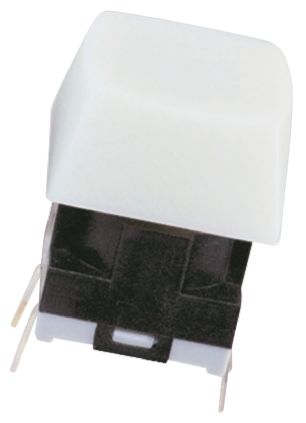 NKK Switches IP67 Tactile Switch, SPST 125 mA@ 24 V dc 3.3mm