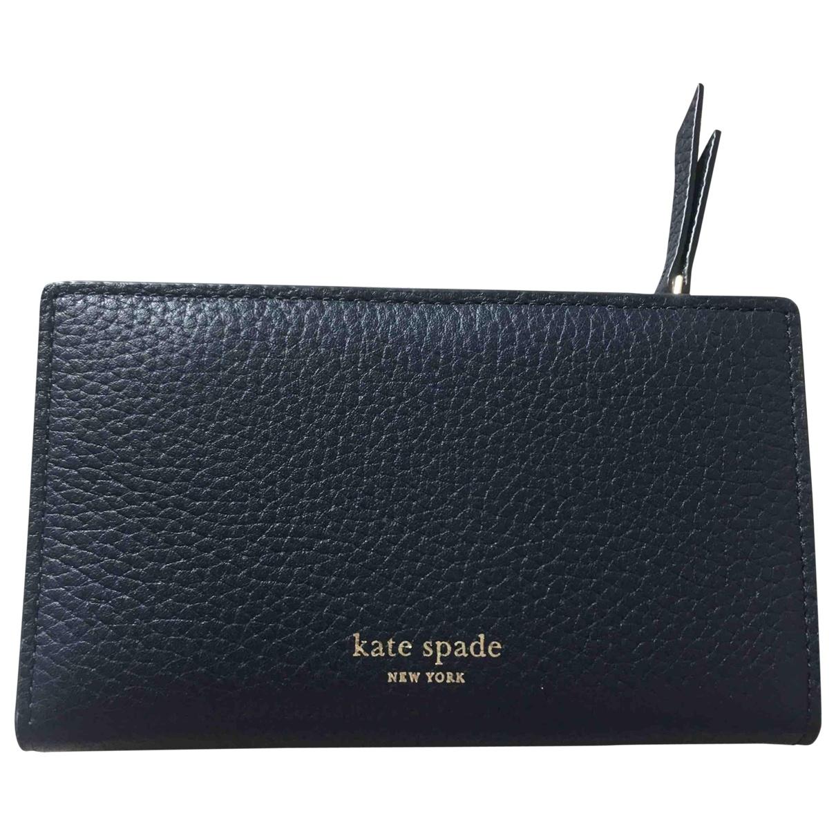 Kate Spade \N Blue Leather wallet for Women \N