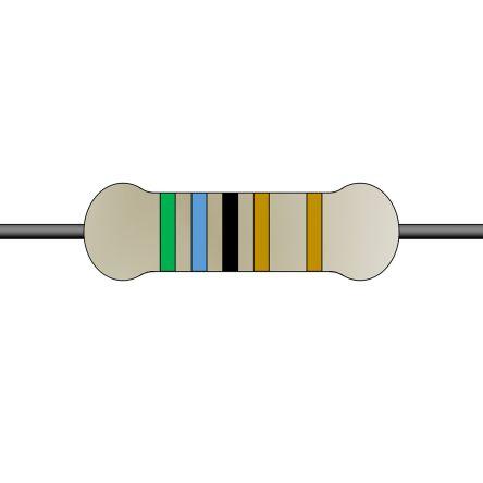 Yageo 56Ω Through Hole Fixed Resistor 10W 5% SQP10AJB-56R (500)
