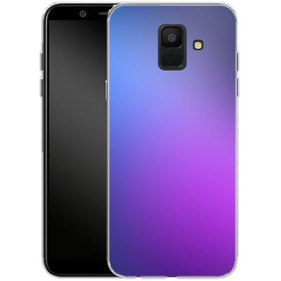 Samsung Galaxy A6 Silikon Handyhuelle - Blueberry von #basic