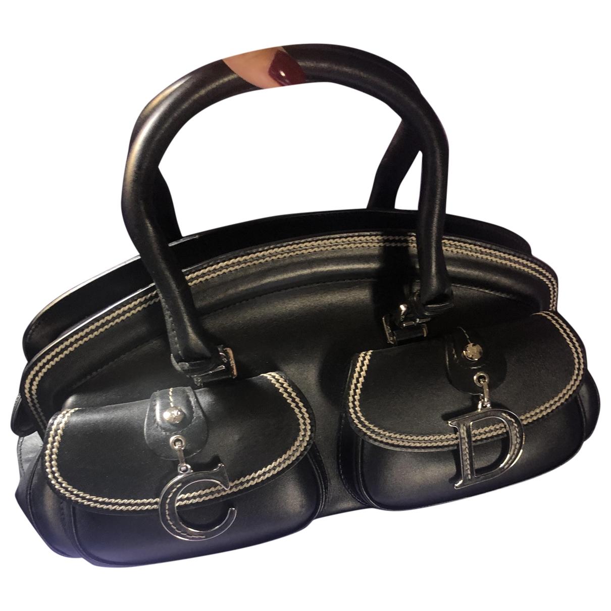 Dior - Sac a main Detective pour femme en cuir - noir