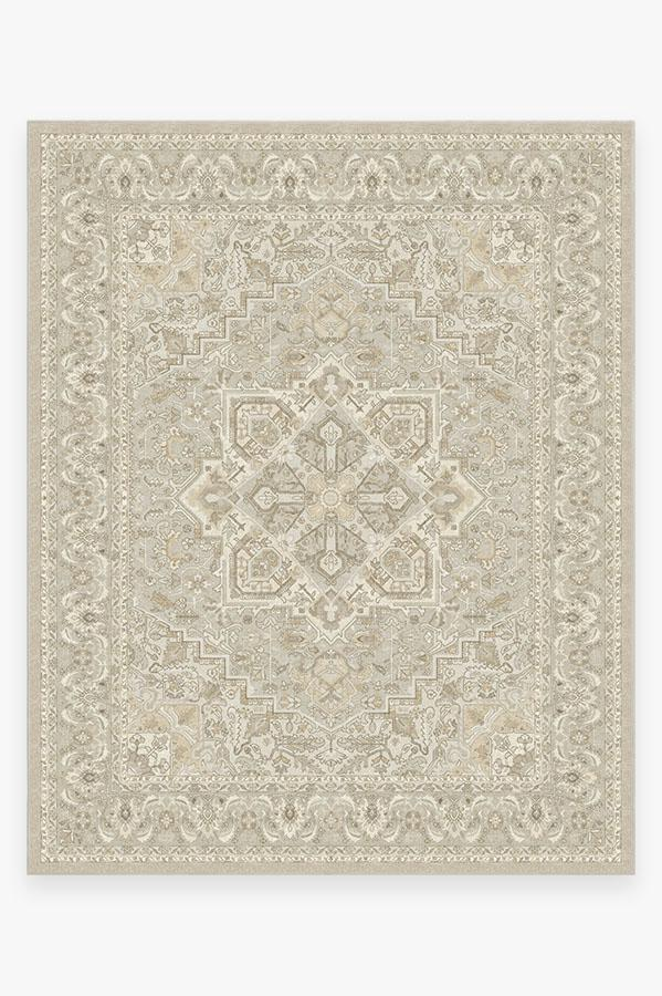 Washable Rug Cover | Hendesi Heriz Cream Rug | Stain-Resistant | Ruggable | 8x10