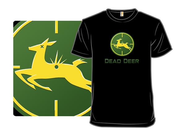Dead Deer T Shirt