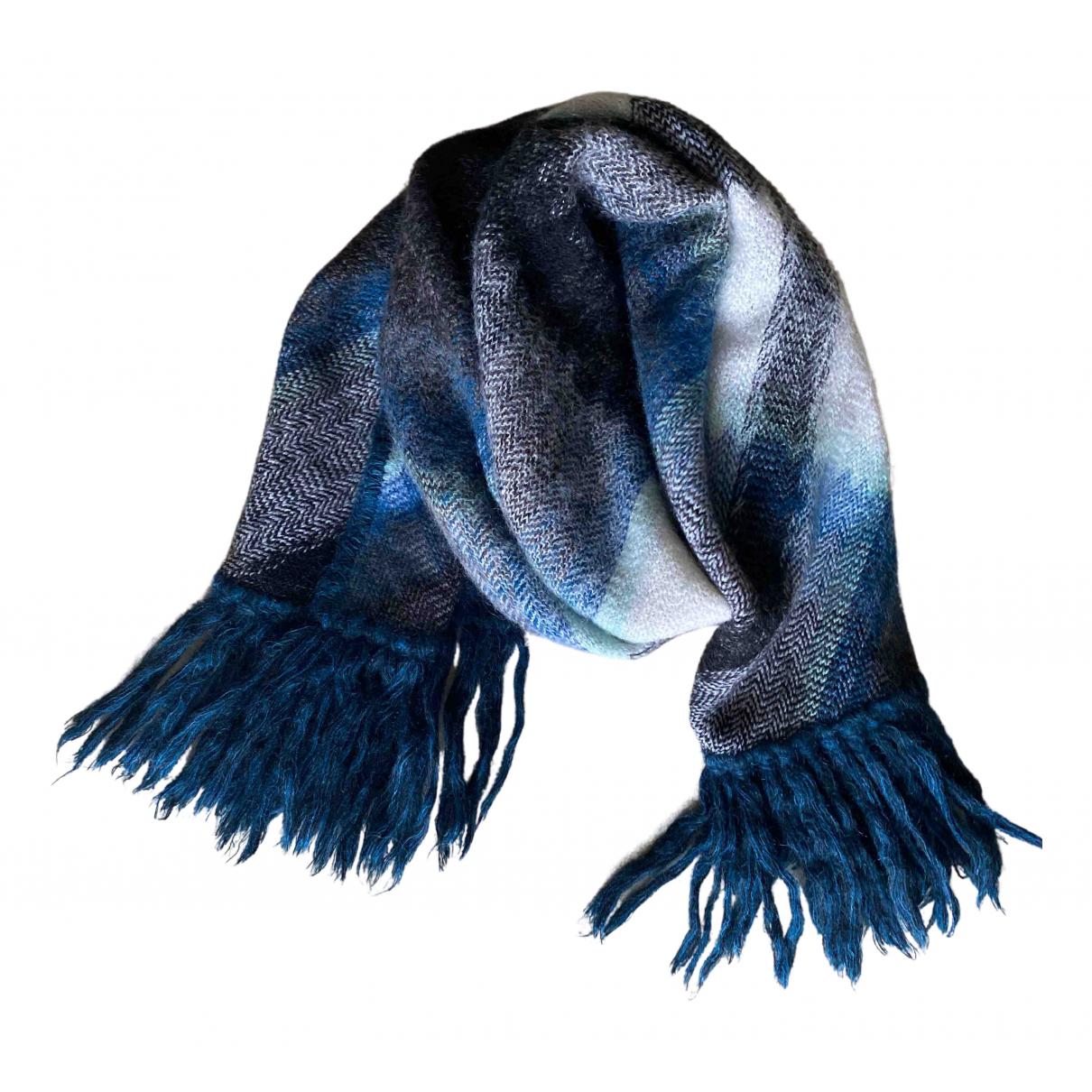 Missoni - Cheches.Echarpes   pour homme en laine - bleu