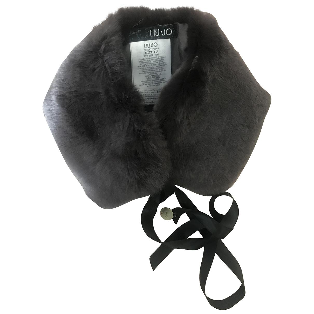 Liu.jo \N Grey Rabbit scarf for Women \N