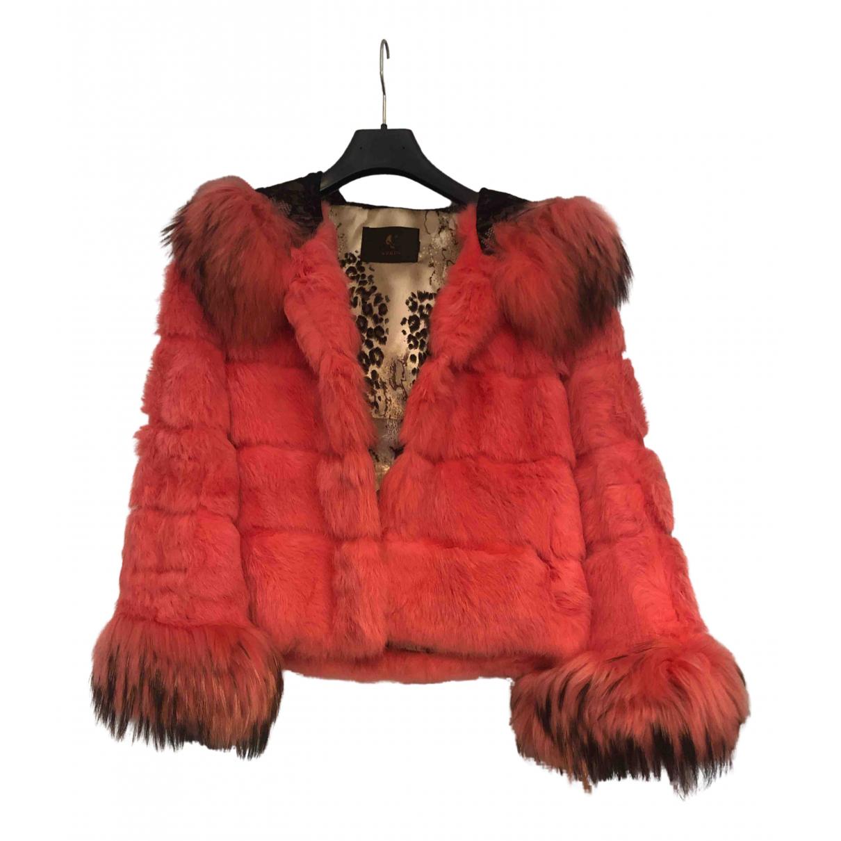 - Veste   pour femme en lapin - rose