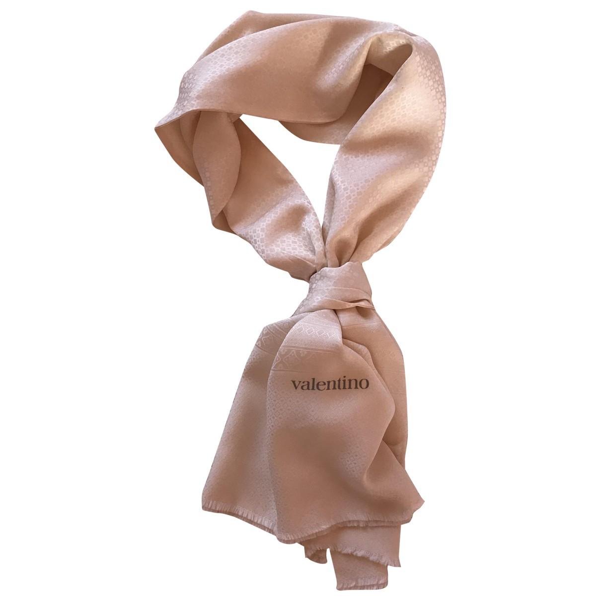 Valentino Garavani N White Silk scarf for Women N