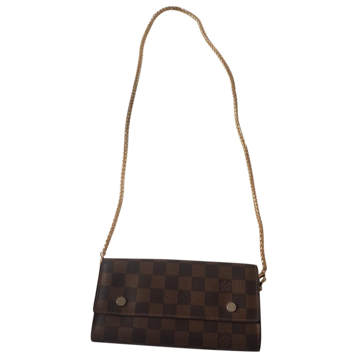 Louis Vuitton Favorite Handtasche in  Braun Leder