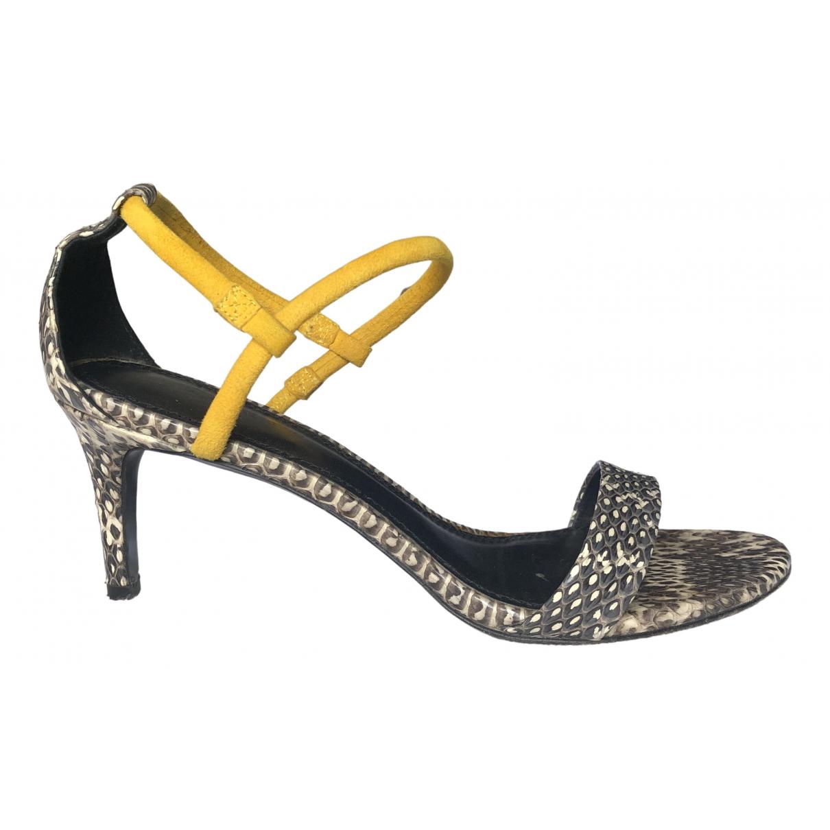 Sandro \N Multicolour Suede Sandals for Women 37 EU