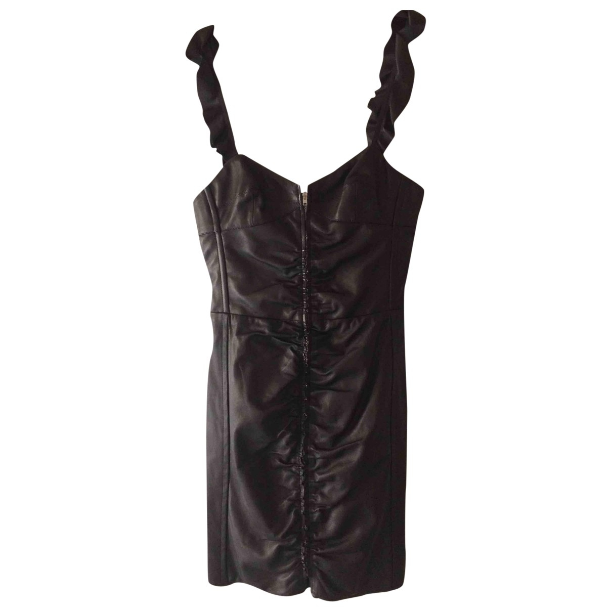 Isabel Marant \N Black Leather dress for Women 36 FR
