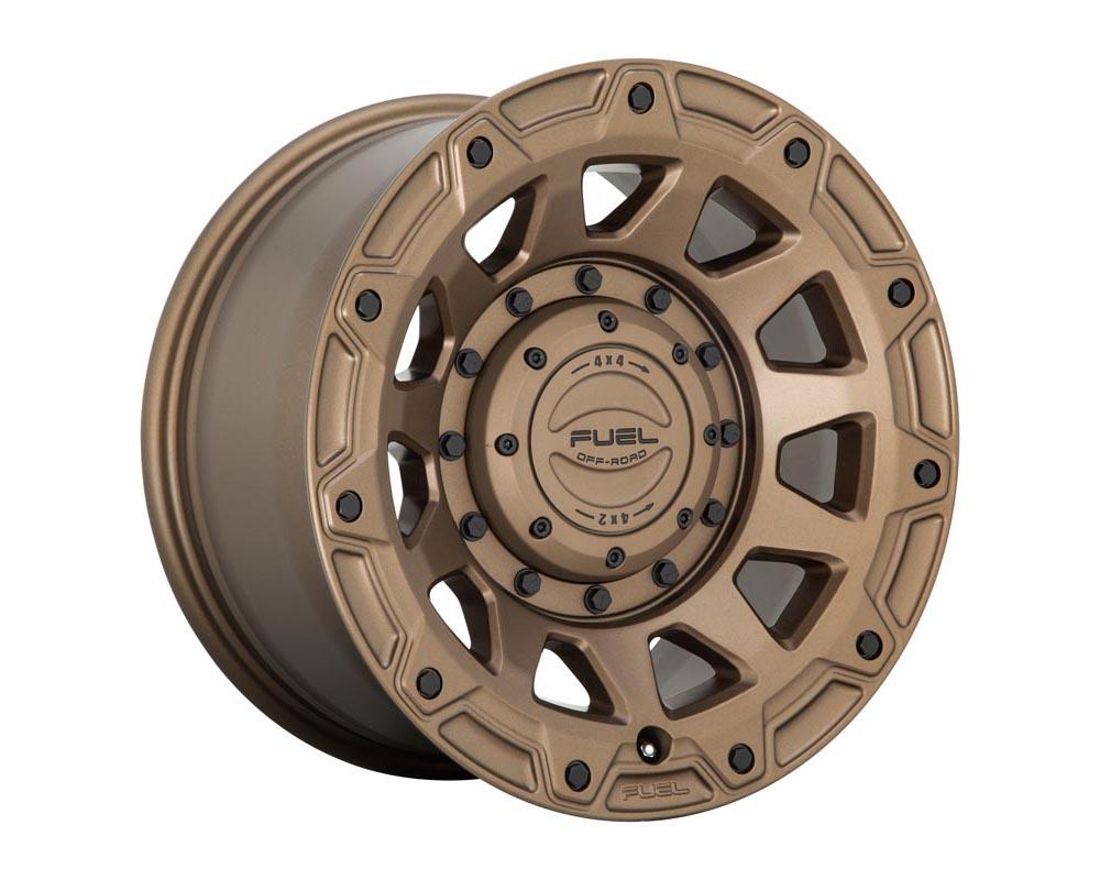Fuel D731 Tracker Wheel 17x9 6x135/5.5 -12 Matte Bronze