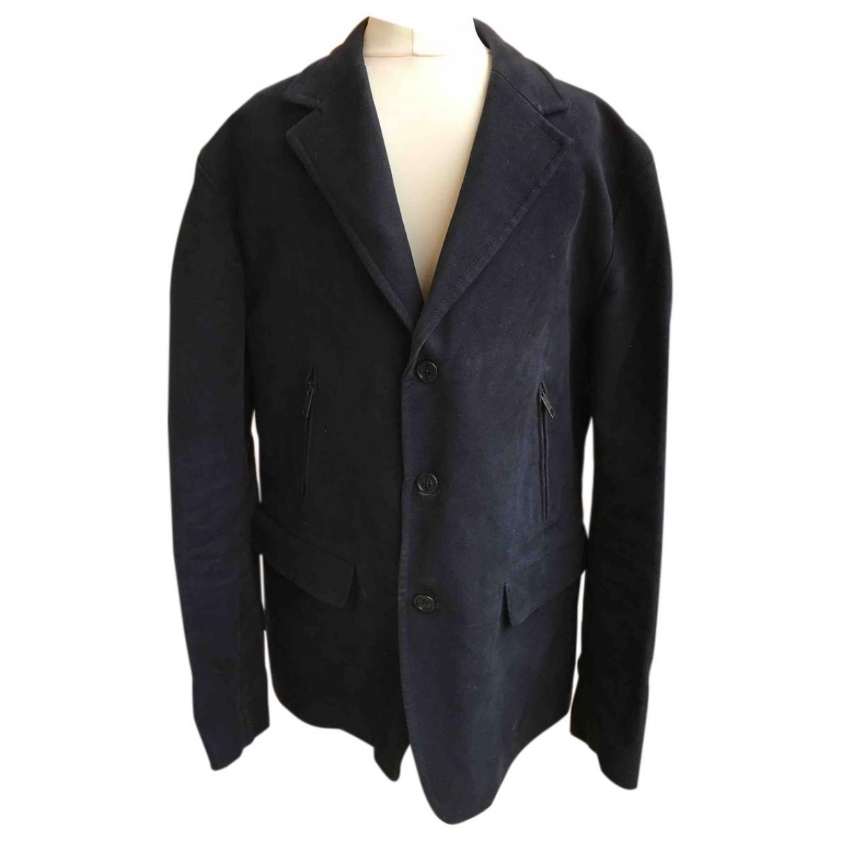 Burberry - Vestes.Blousons   pour homme en coton - marine