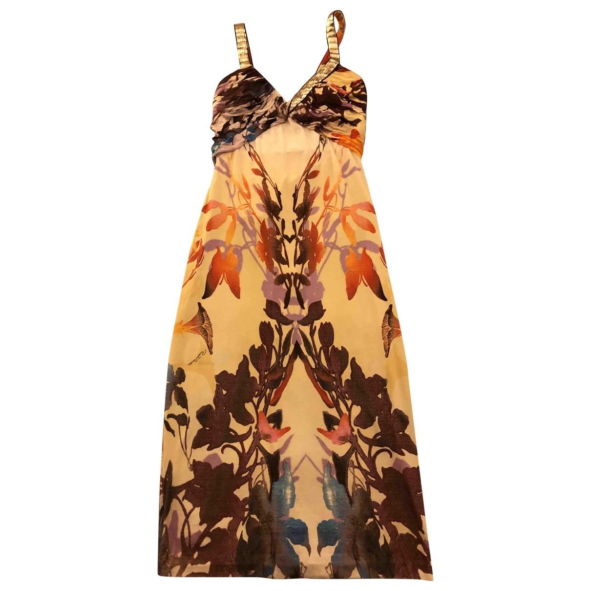 Roberto Cavalli \N Silk dress for Women 38 IT