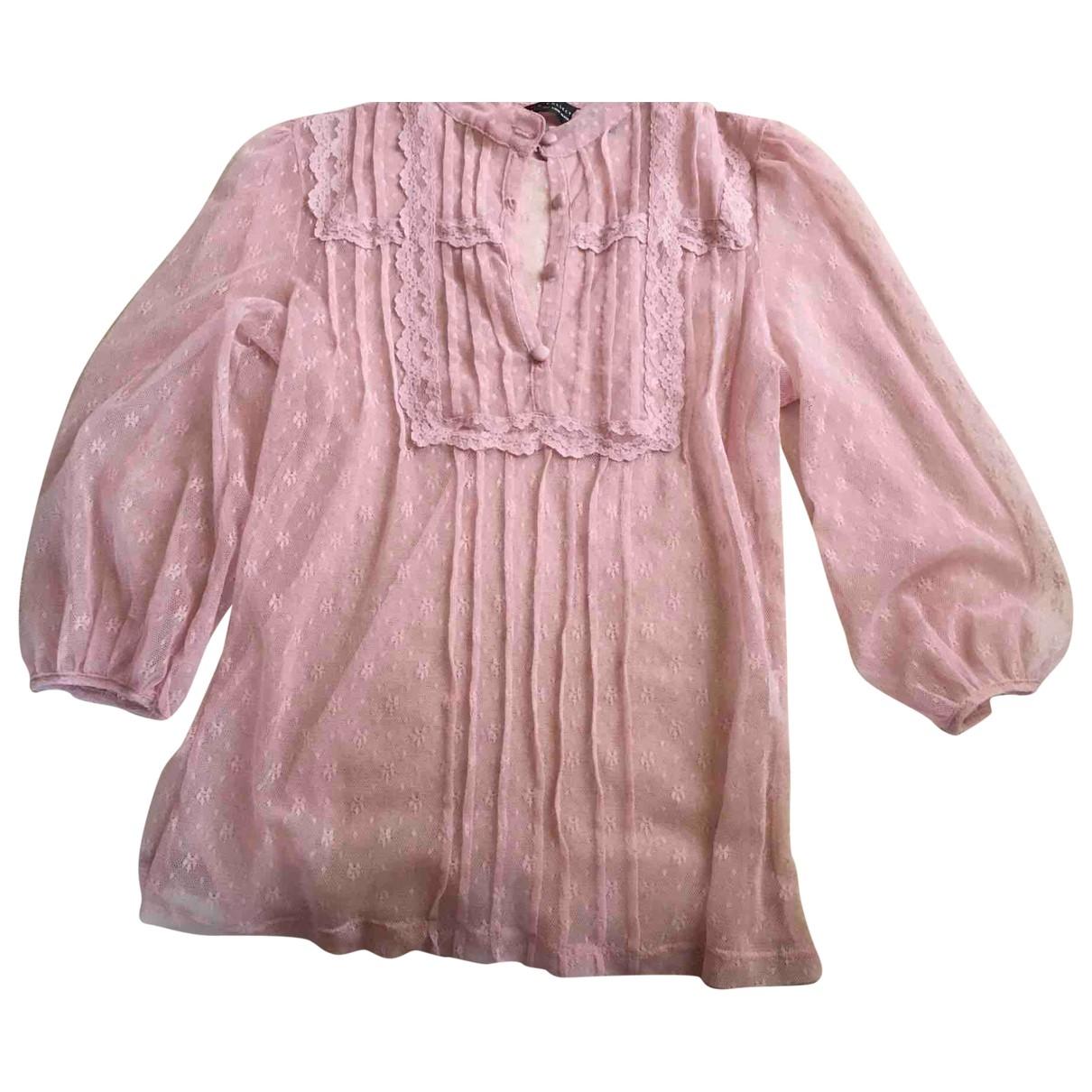 Zara - Top   pour femme - rose