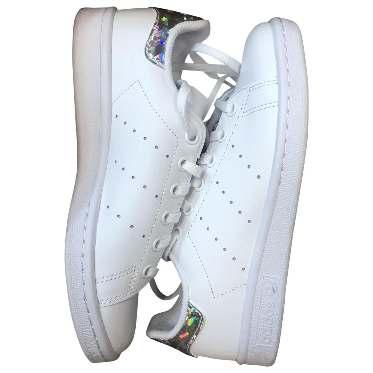 Adidas Stan Smith White Leather Trainers for Women 36 EU