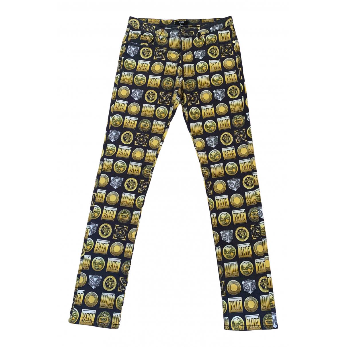 Versus \N Multicolour Cotton - elasthane Jeans for Women 33 US
