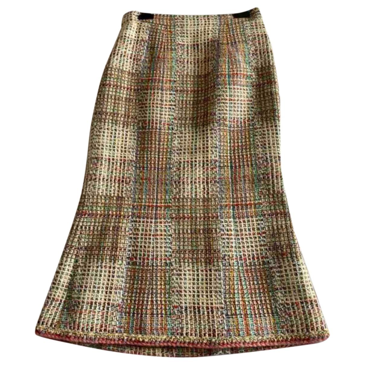 Chanel \N Rocke in  Bunt Tweed