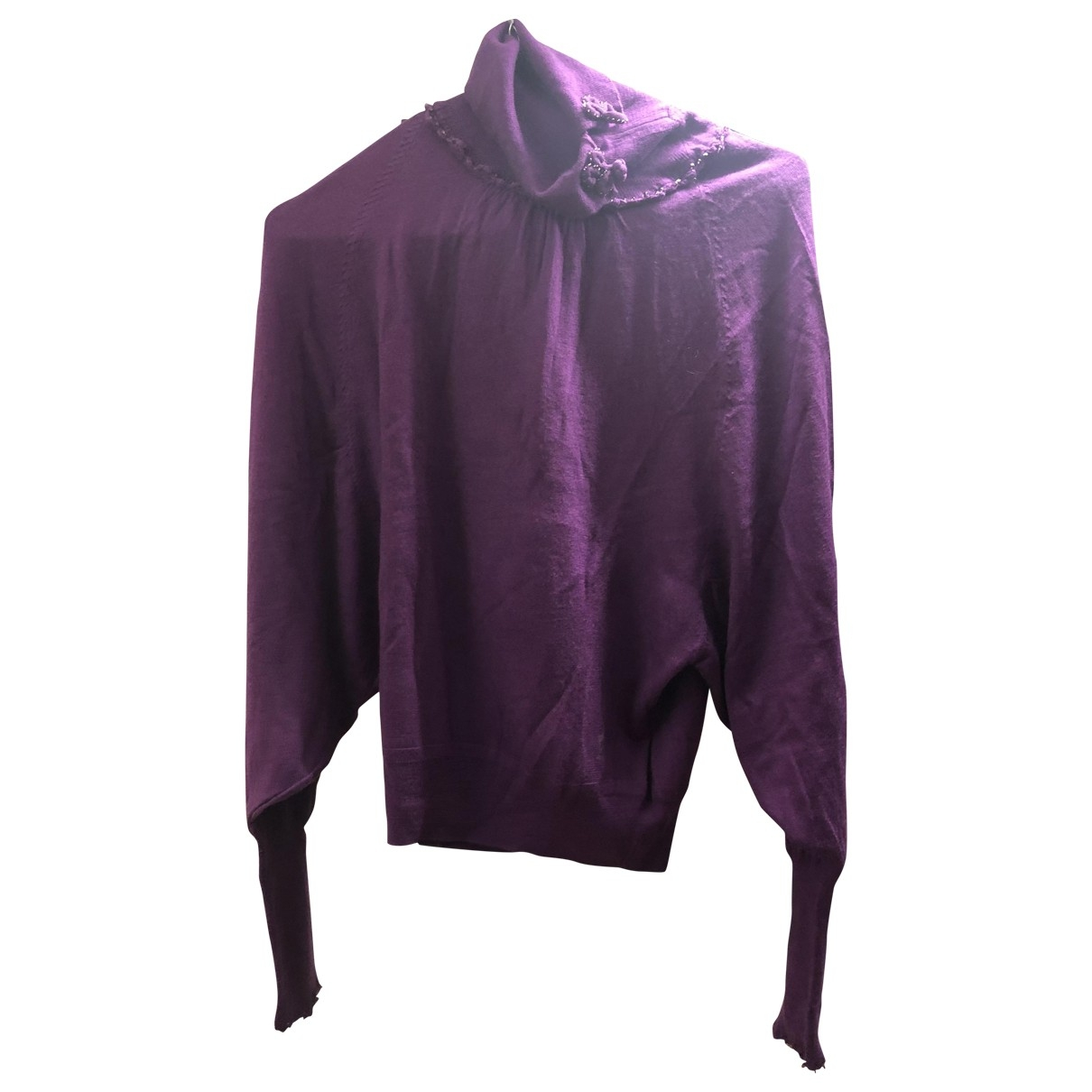 Galliano \N Purple Wool Knitwear for Women M International