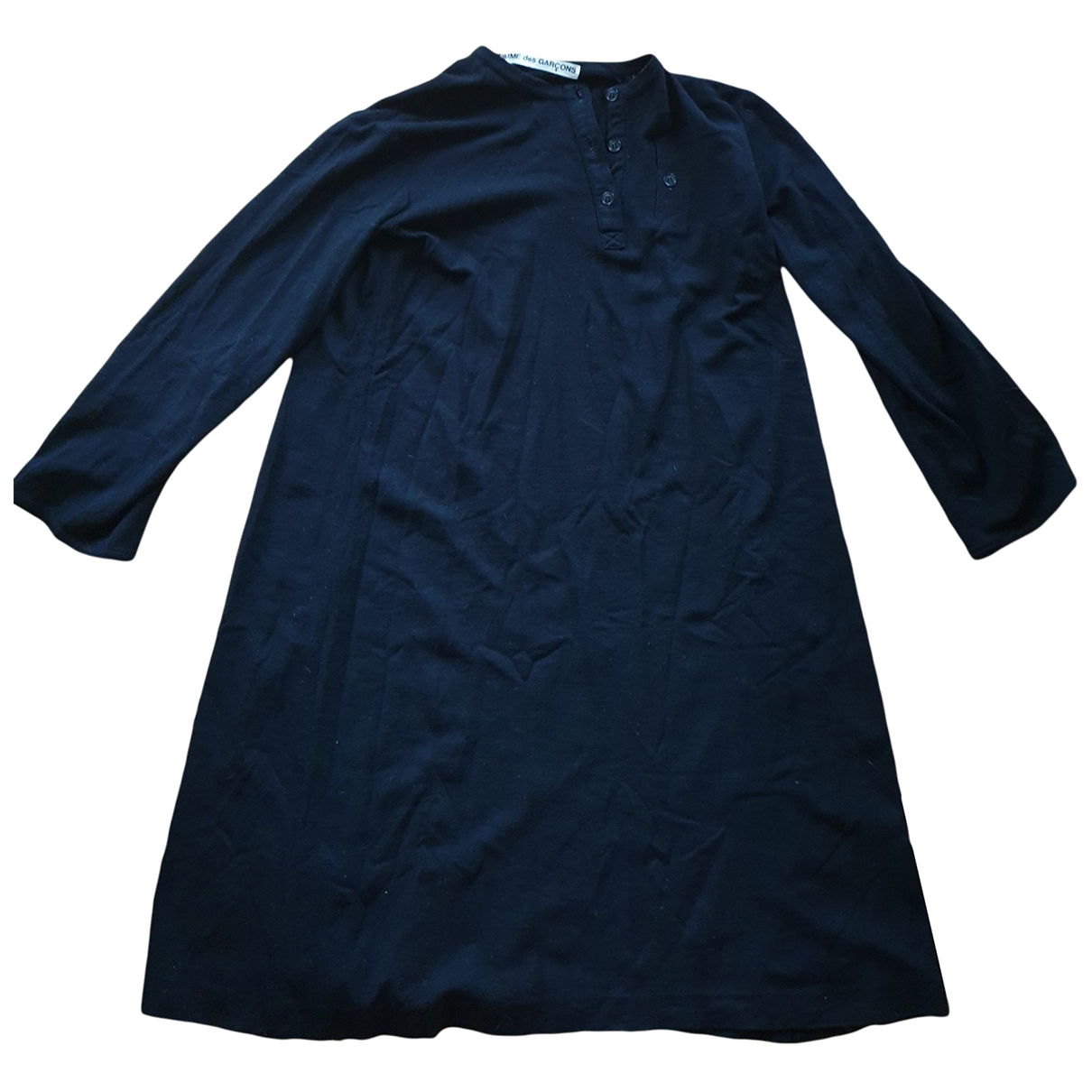 Comme Des Garcons \N Kleid in  Schwarz Wolle