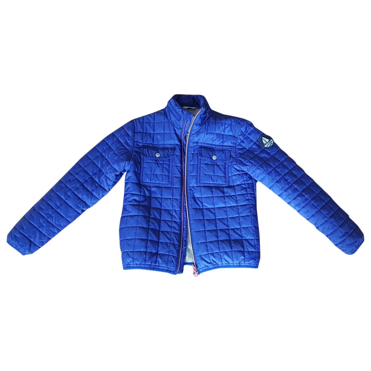 Petit Bateau \N Blue jacket & coat for Kids 8 years - up to 128cm FR