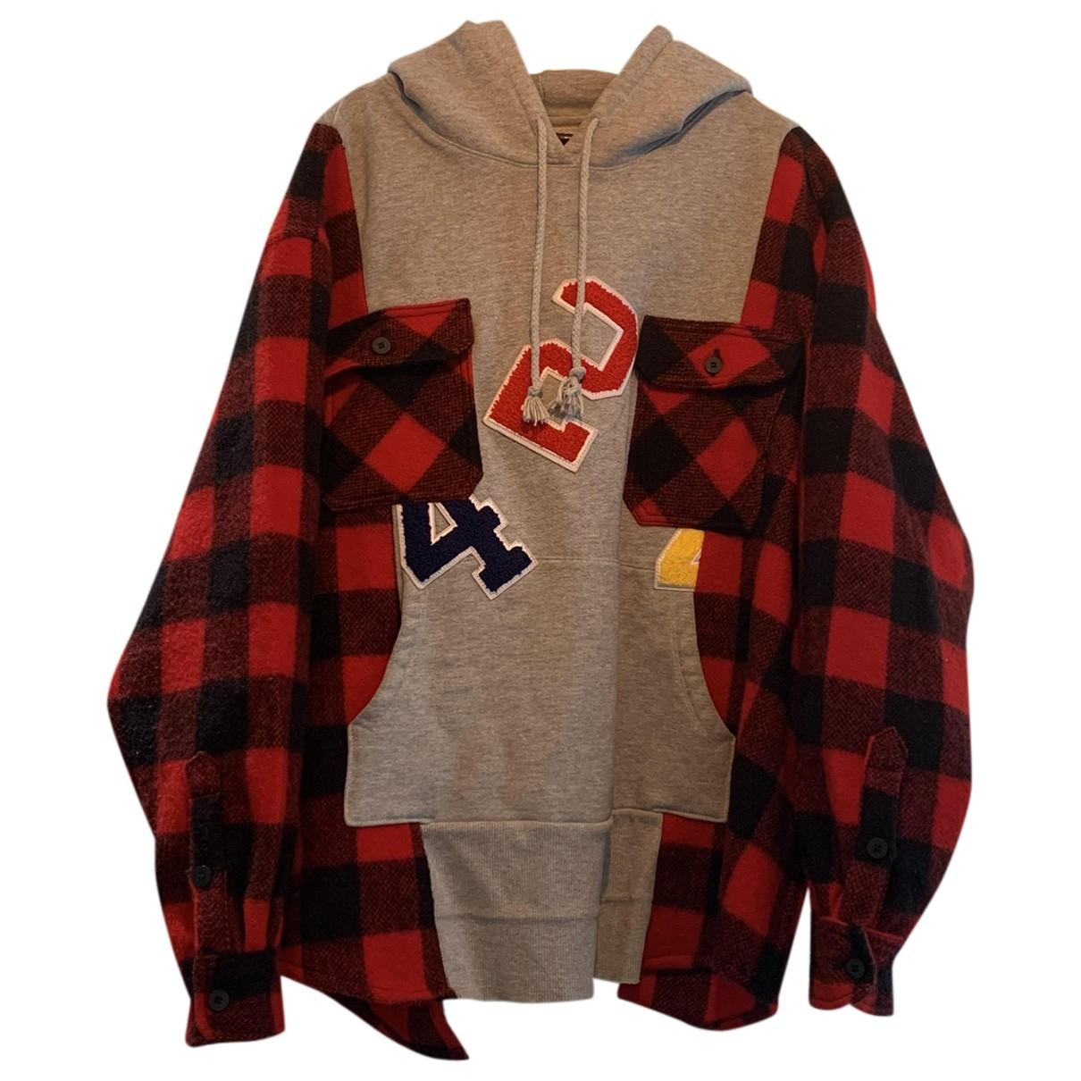 424 \N Pullover.Westen.Sweatshirts  in  Grau Baumwolle