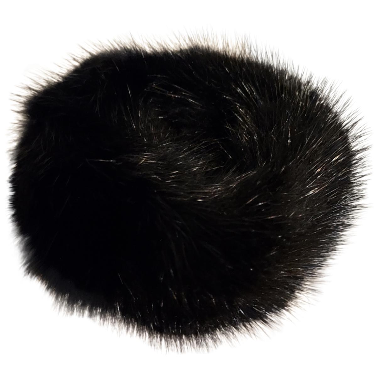 Furla - Bracelet   pour femme en vison - noir