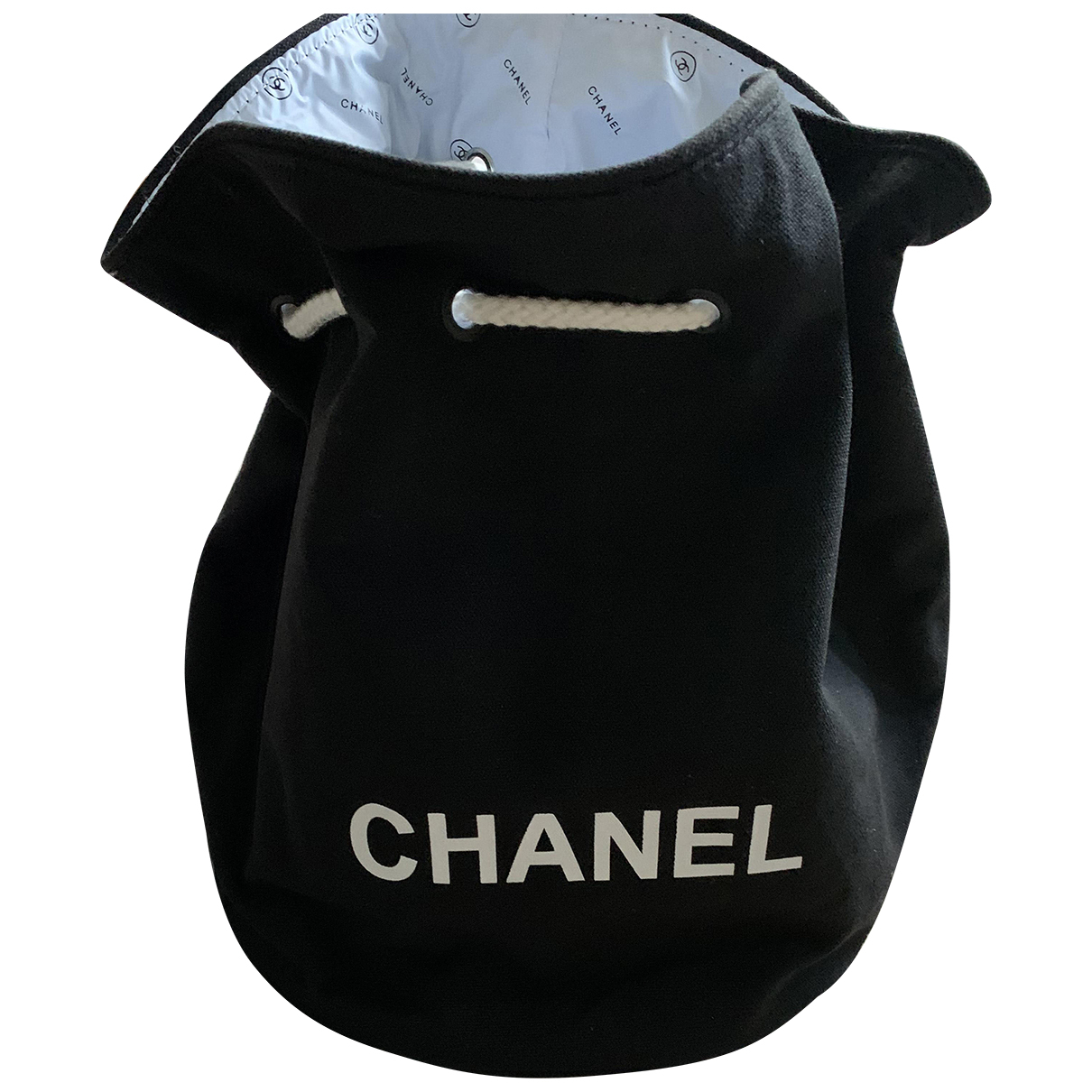 Chanel N Black Cloth backpack for Women N