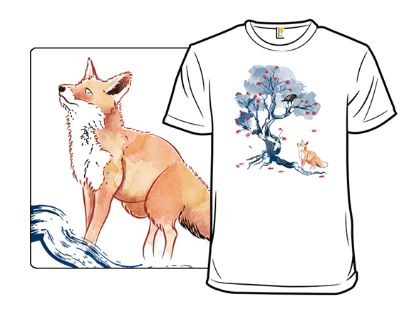 The Fox And The Crow T Shirt
