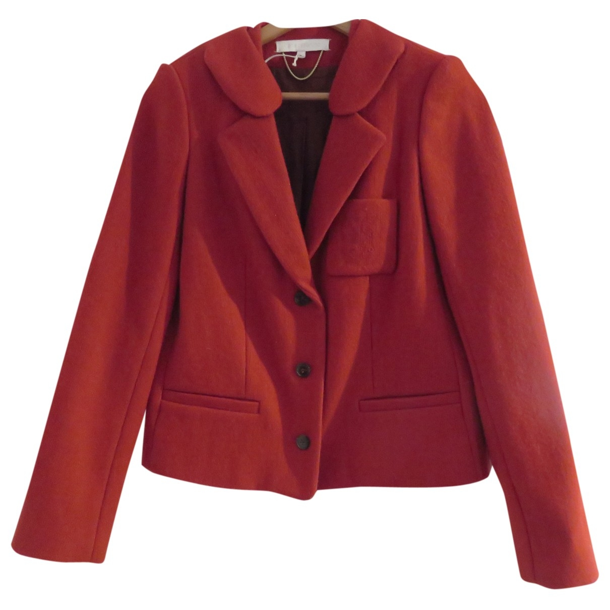 Vanessa Bruno \N Red Wool jacket for Women 36 FR