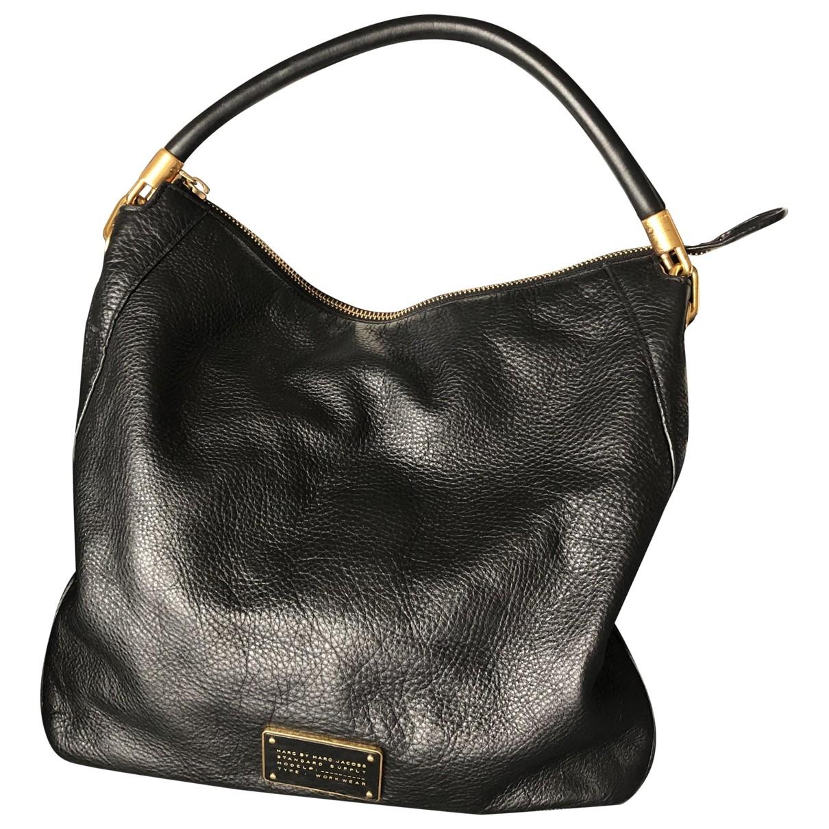 Marc By Marc Jacobs \N Black Leather handbag for Women \N