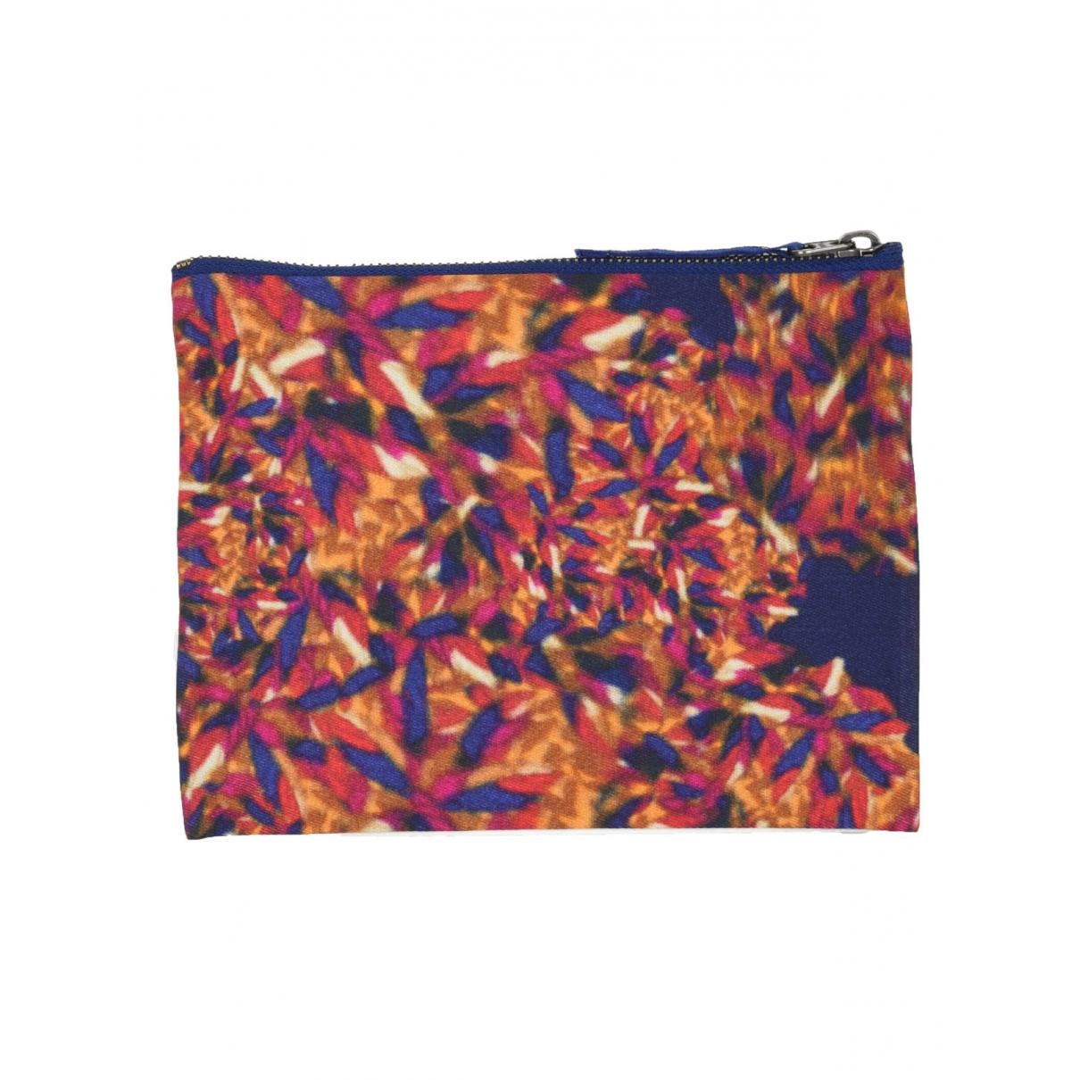 Erdem - Pochette   pour femme en coton - multicolore