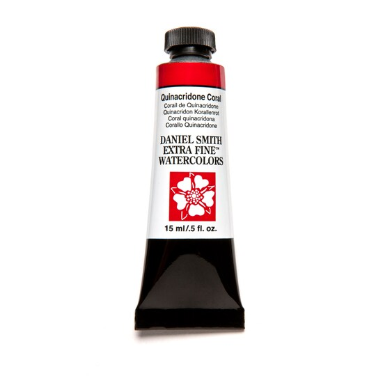 Daniel Smith Extra Fine™ Watercolor, 15 ml Paint in Quinacridone Coral   Michaels®