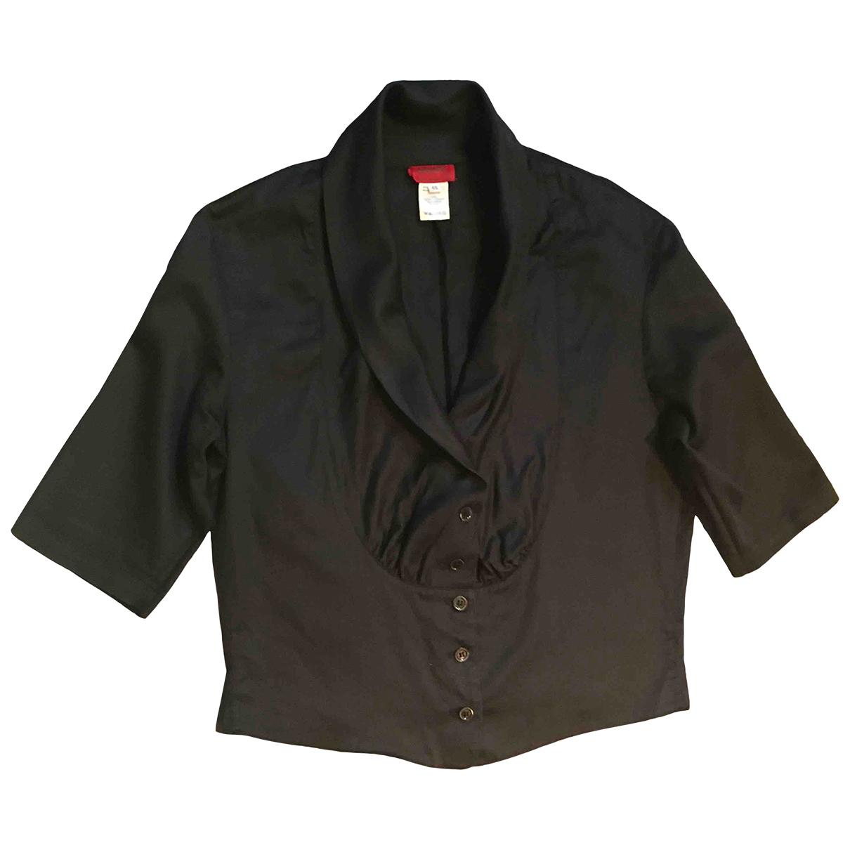 Kenzo \N Black Cotton  top for Women 42 FR