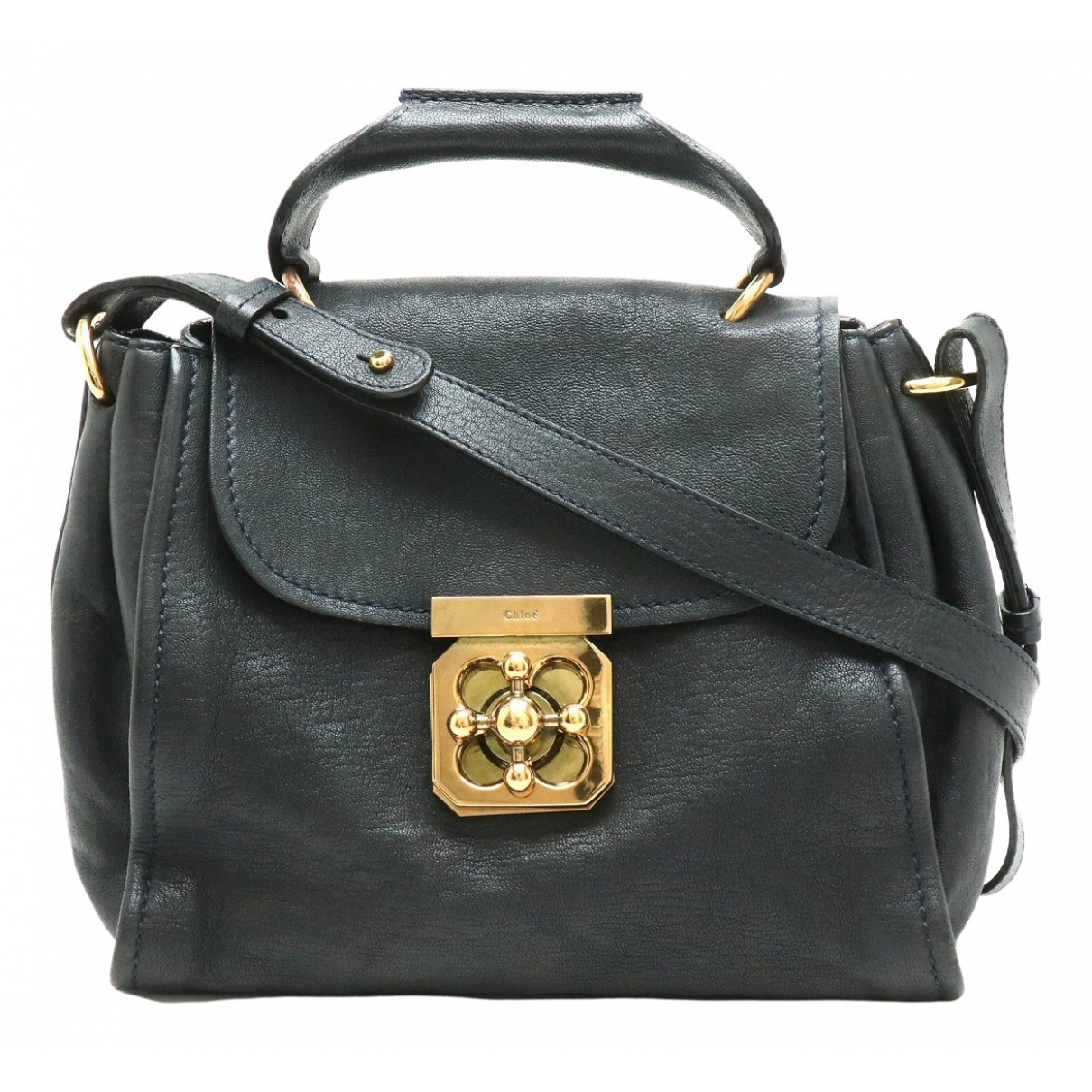 Chloé Elsie Black Leather handbag for Women \N